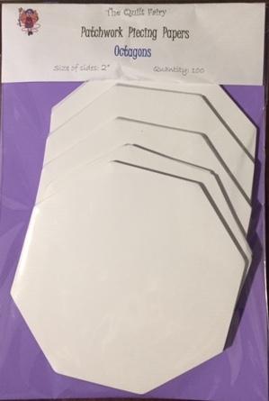 "2"" octagons piecing papers"