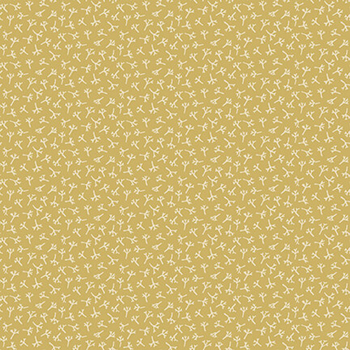 Tealiciouse - tea leaf texture - yellow