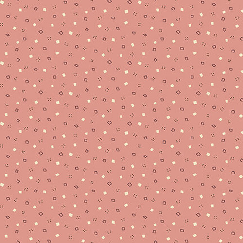 Tealiciouse - mini spots and squares - rose