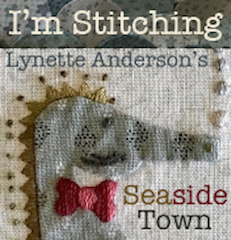 'SEASIDE TOWN' Quilt by Lynette Anderson