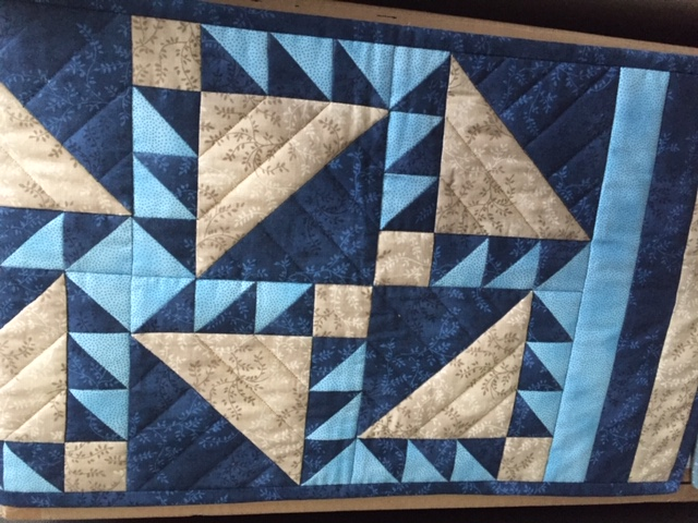 'Beary Blue' Tablerunner - 28 August 2021, Saturday and 30 October 2021, Saturday