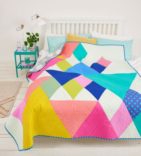 End Game Quilt pattern and template set