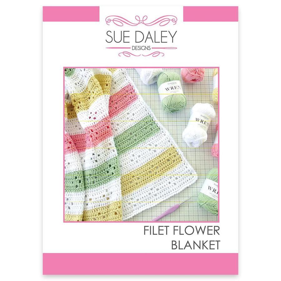 Filet Flower Blanket