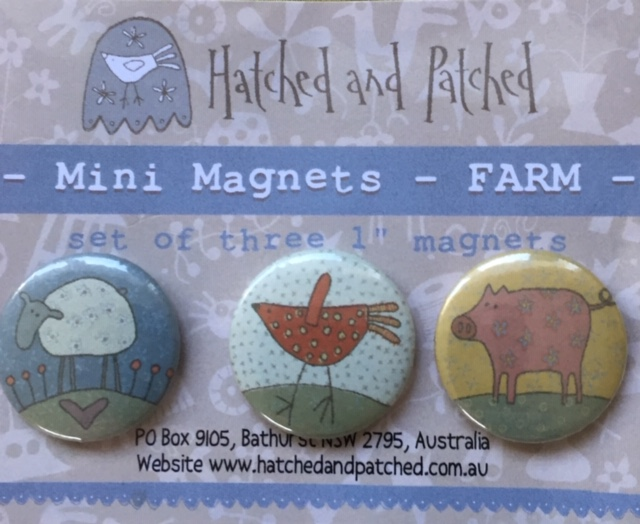 Farm - Set of 3 Magnets