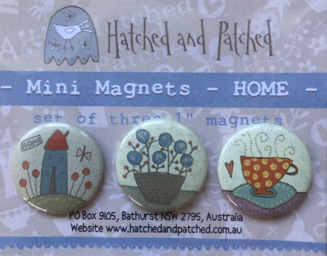 Home - Set of 3 Magnets