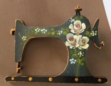 Sewing Machine - green