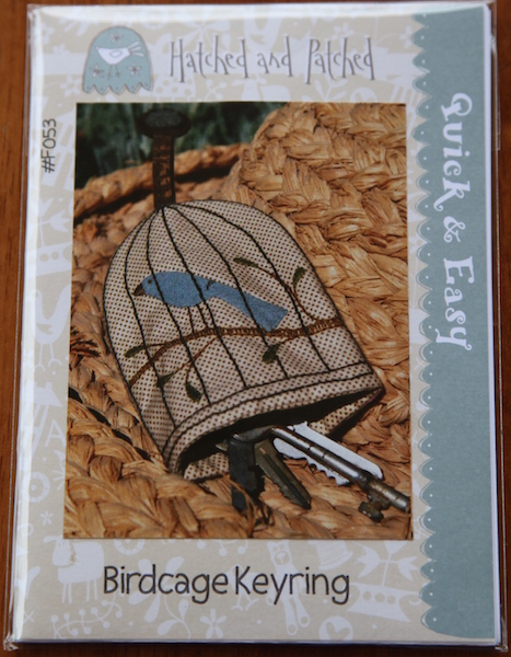 Birdcage Keyring