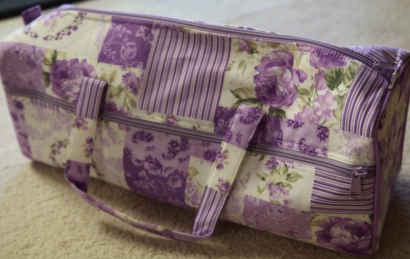 Knitting Bag - Purple