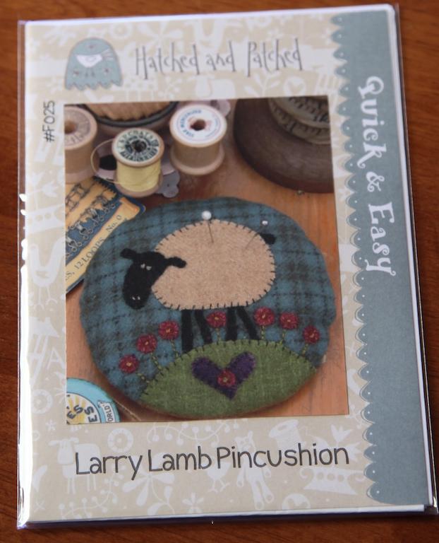 Larry the Lamb Pincushion