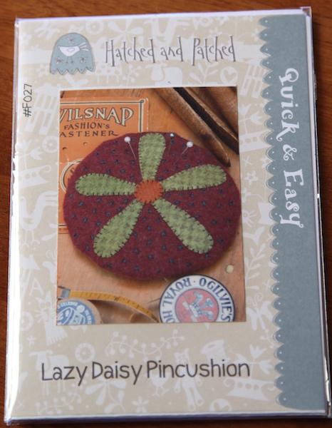 Lazy Daisy Pincushion
