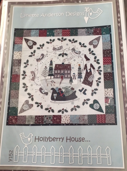 'Hollyberry House' Quilt