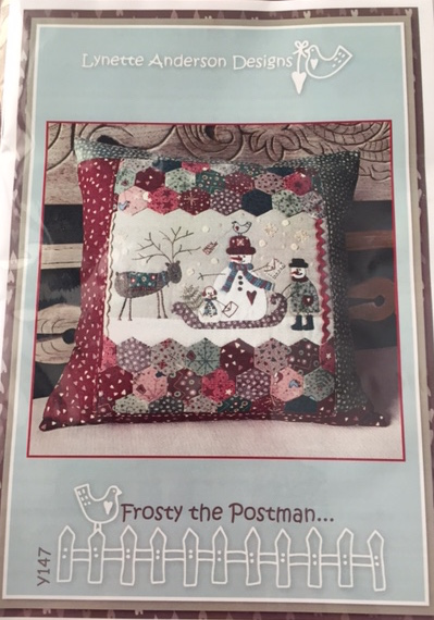 'Frosty the Postman' Pillow