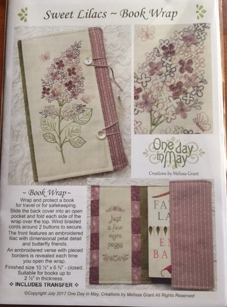 'Sweet Lilacs' - Book Wrap