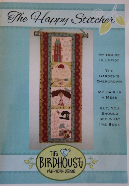 'The Happy Stitcher' Wallhanging