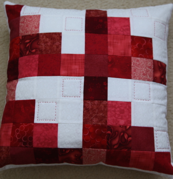 Red Echo Pillow
