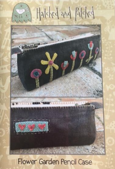 Flower Garden Pencil Case