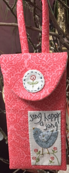 Happy Song Pouch - Phone/Glasses Case