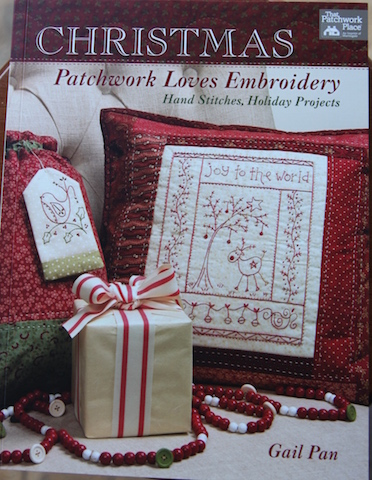 Patchwork Loves Embroidery - Christmas by Gail Pan