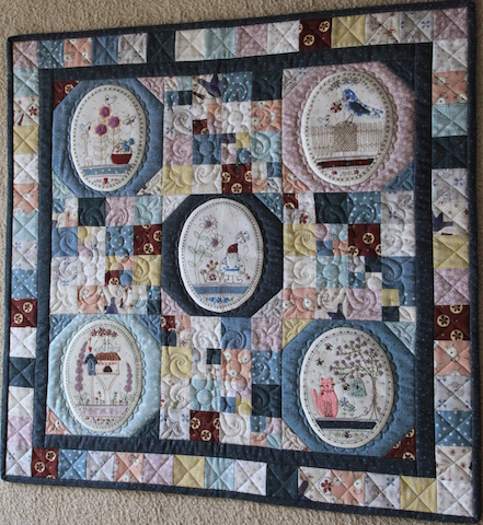'Green Thumb' Block of the Month - Lynette Anderson