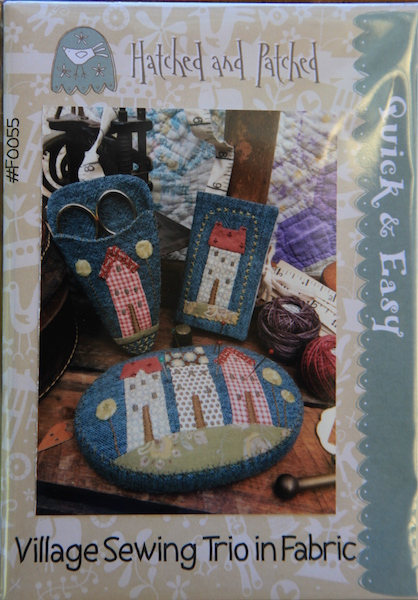 Village Sewing Trio in Fabric