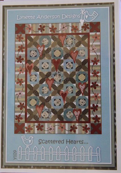 Scattered Hearts Quilt