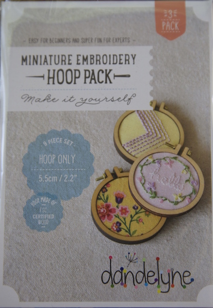 "2.2"" (5.5cm) hoop frame set only - 3 packs"