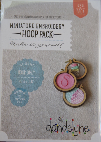 "1.5"" (4cm) hoop frame set only - 3 packs"