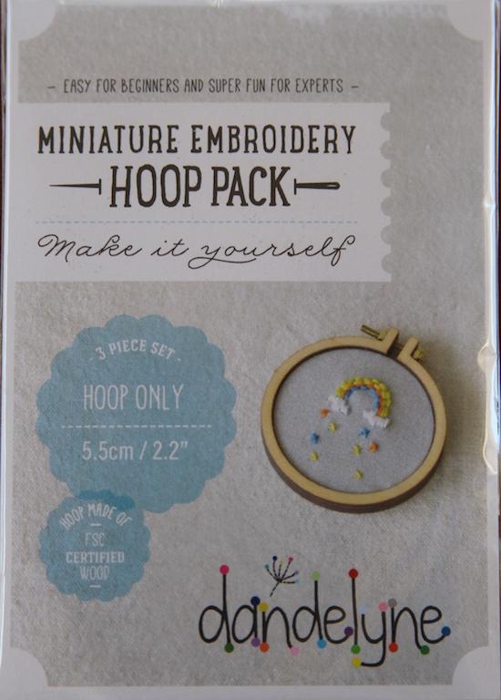 """2.2"""" (5.5cm) hoop frame set only"""