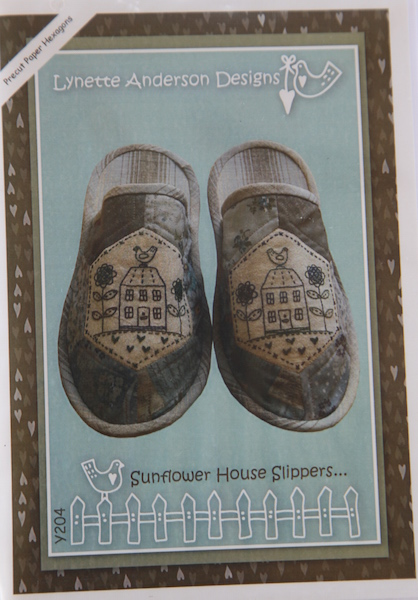 Sunflower House Slippers