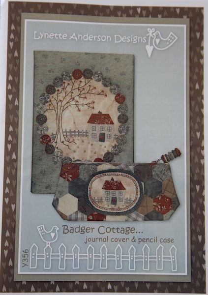 Badger Cottage Journal Cover and Pencil Case
