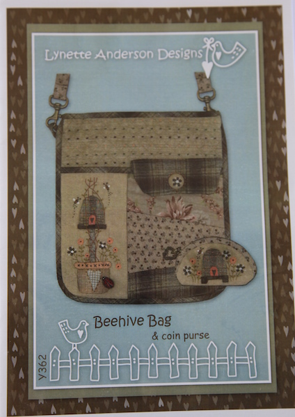 Beehive Bag and Coin Purse