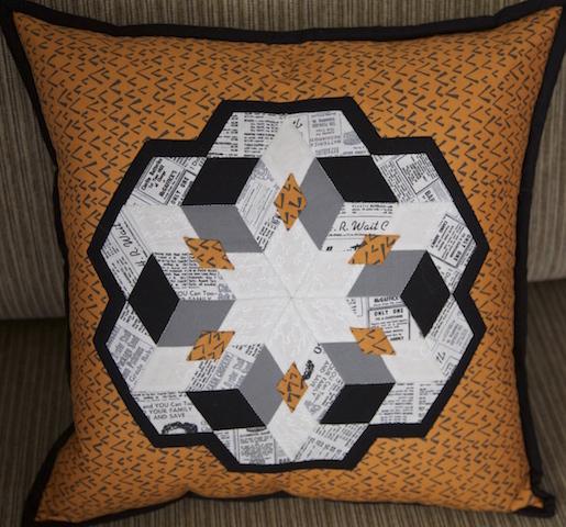 'Diamond City' Cushion