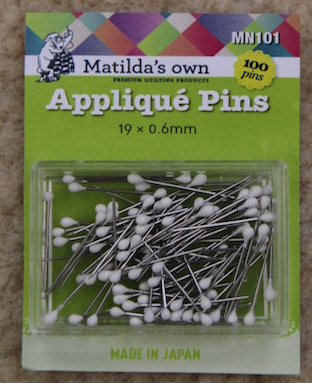 Matilda's Own Applique Pins
