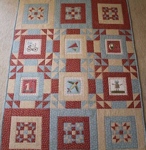'About a Boy' Quilt - 28 August 2021, Saturday