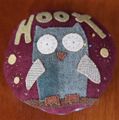 Hilda the Hoot Pincushion