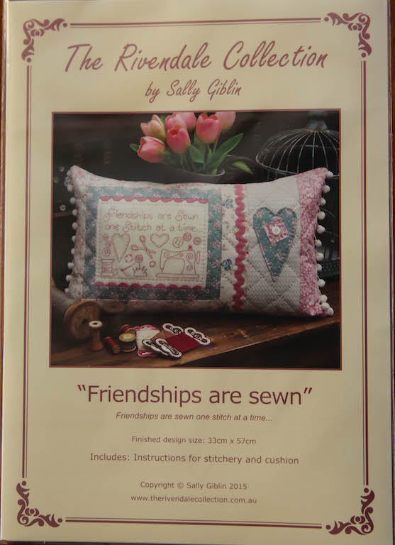 Friendship are sewn