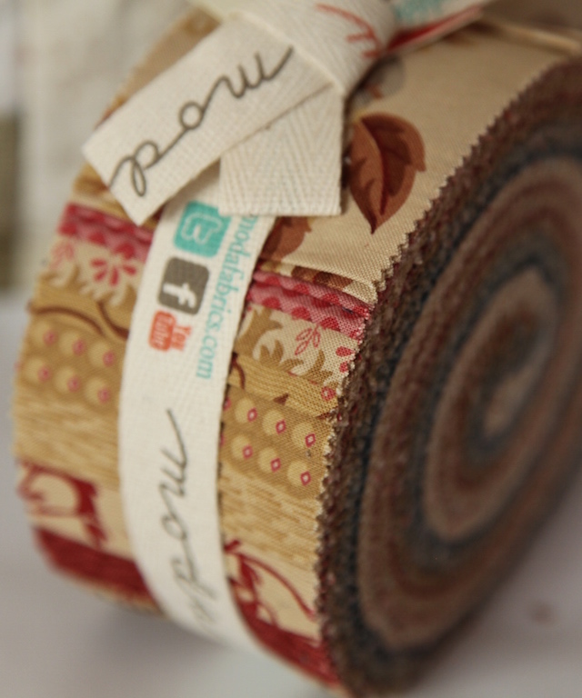 MODA Jelly Roll - Sticks and Stones Laundry Basket Quilts