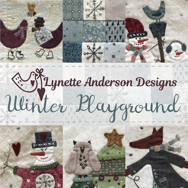 'Winter Playground' Quilt - EXPRESSION OF INTERESTS!